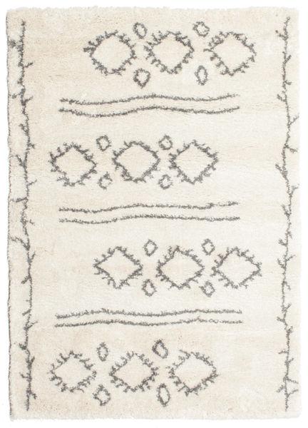 Berber Shaggy Yani Dywan 160X230 Nowoczesny Beżowy/Jasnoszary ( Turcja)