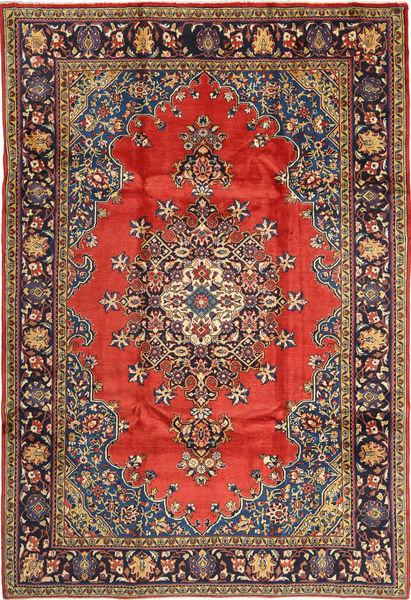 Wiss Dywan 230X335 Orientalny Tkany Ręcznie Ciemnoczerwony/Ciemnoszary (Wełna, Persja/Iran)