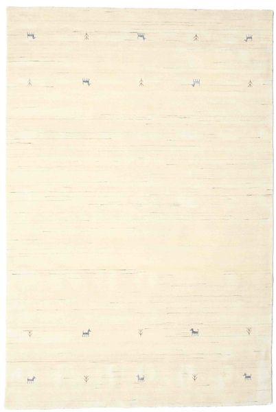 Gabbeh Loom Two Lines - Kość Słoniowa Dywan 190X290 Nowoczesny Beżowy/Biały/Creme (Wełna, Indie)