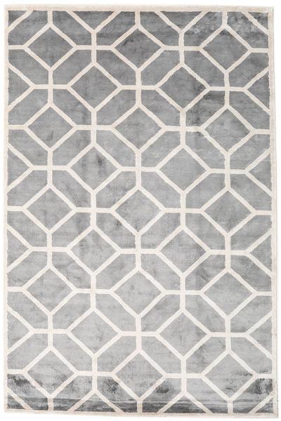 Palace Dywan 300X400 Nowoczesny Tkany Ręcznie Jasnoszary/Biały/Creme Duży ( Indie)