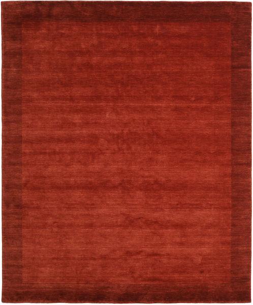 Handloom Frame - Rdzawy Dywan 250X300 Nowoczesny Rdzawy/Czerwony/Czerwony Duży (Wełna, Indie)