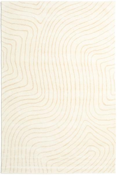 Woodyland - Beżowy Dywan 200X300 Nowoczesny Beżowy/Biały/Creme (Wełna, Indie)