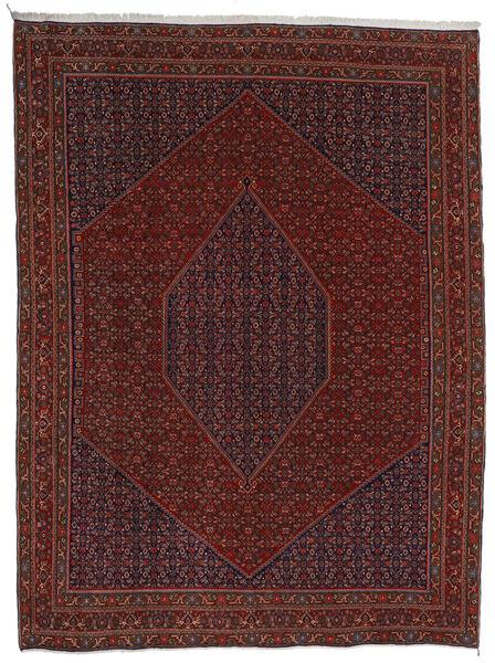 Bidżar Dywan 304X404 Orientalny Tkany Ręcznie Ciemnoczerwony/Ciemnobrązowy Duży (Wełna, Persja/Iran)