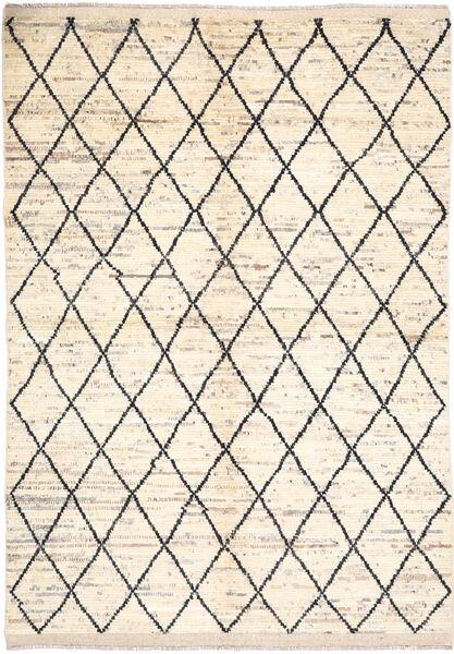 Moroccan Berber - Afghanistan Dywan 171X236 Nowoczesny Tkany Ręcznie Beżowy/Jasnoszary (Wełna, Afganistan)