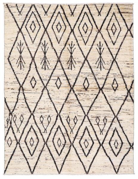 Moroccan Berber - Afghanistan Dywan 170X222 Nowoczesny Tkany Ręcznie Beżowy/Jasnoszary (Wełna, Afganistan)