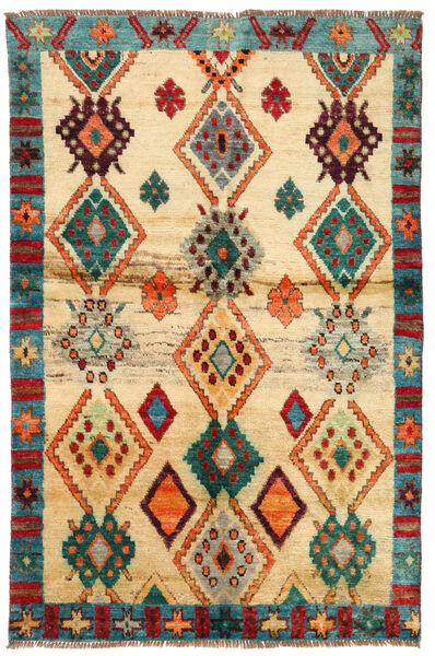 Moroccan Berber - Afghanistan Dywan 114X183 Nowoczesny Tkany Ręcznie Ciemnobeżowy/Beżowy (Wełna, Afganistan)