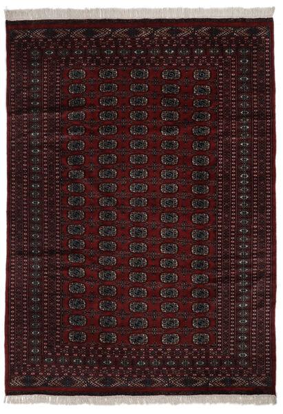 Pakistański Bucharski 2Ply Dywan 184X262 Orientalny Tkany Ręcznie Czarny (Wełna, Pakistan)