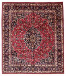 Meszhed Sygnowany: Maebodi Dywan 303X360 Orientalny Tkany Ręcznie Duży (Wełna, Persja/Iran)