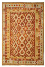 Kilim Afgan Old Style Dywan 197X293 Orientalny Tkany Ręcznie (Wełna, Afganistan)