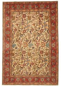 Tebriz Patina Obrazkowy Sygnowany: Hadadian Dywan 203X304 Orientalny Tkany Ręcznie (Wełna, Persja/Iran)