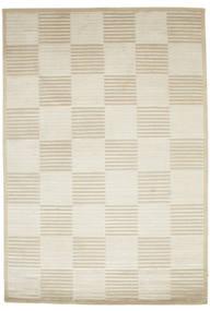 Pacific Line Square - White/Beżowy Dywan 170X240 Nowoczesny Tkany Ręcznie Ciemnobeżowy/Beżowy ( Indie)