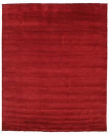 Handloom Fringes - Ciemnoczerwony Dywan 250X300 Nowoczesny Czerwony Duży (Wełna, Indie)