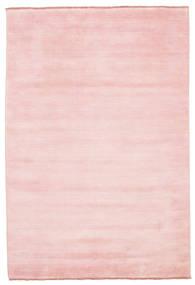 Handloom Fringes - Różowy Dywan 160X230 Nowoczesny Jasnoróżowy (Wełna, Indie)