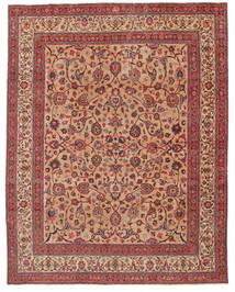 Meszhed Patina Sygnowany: Amoghli Dywan 287X370 Orientalny Tkany Ręcznie Rdzawy/Czerwony/Ciemnoczerwony Duży (Wełna, Persja/Iran)