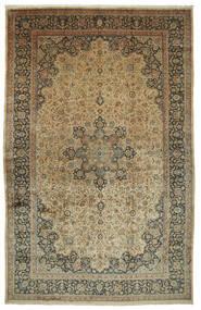 Meszhed Astan Ghods Dywan 508X789 Orientalny Tkany Ręcznie Jasnobrązowy/Ciemnoszary Duży (Wełna, Persja/Iran)