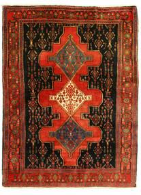 Senneh Dywan 126X175 Orientalny Tkany Ręcznie (Wełna, Persja/Iran)