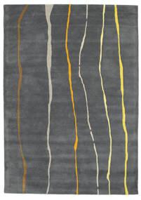 Flaws Handtufted - Szary Dywan 160X230 Nowoczesny Ciemnoszary/Jasnoszary (Wełna, Indie)