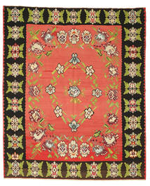 Kilim Pół -Antyk Dywan 260X305 Orientalny Tkany Ręcznie Czerwony/Ciemnoszary Duży (Wełna, Słowenia)