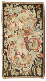 Kilim Rose Dywan 180X315 Orientalny Tkany Ręcznie Brązowy/Ciemnobeżowy (Wełna, Mołdawia)
