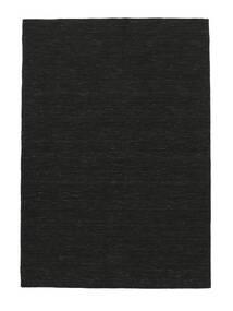 Kilim Loom - Czarny Dywan 250X350 Nowoczesny Tkany Ręcznie Czarny Duży (Wełna, Indie)