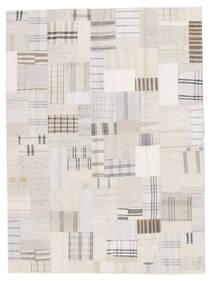 Kilim Patchwork Dywan 171X230 Nowoczesny Tkany Ręcznie Beżowy/Biały/Creme (Wełna, Turcja)