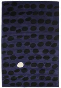 Camouflage Handtufted - Ciemny Dywan 200X300 Nowoczesny Czarny/Ciemnoniebieski (Wełna, Indie)