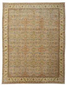 Egypt Dywan 400X535 Orientalny Tkany Ręcznie Jasnobrązowy/Ciemnobeżowy Duży (Wełna, Egipt)