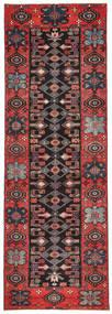 Saveh Patina Dywan 100X303 Orientalny Tkany Ręcznie Chodnik Ciemnobrązowy/Ciemnoczerwony (Wełna, Persja/Iran)