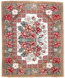 Kilim Rose Moldavia Dywan 177X213 Orientalny Tkany Ręcznie Jasnobrązowy/Ciemnobrązowy (Wełna, Mołdawia)