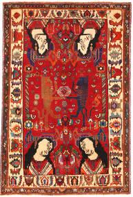 Ghashgai Obrazkowy Dywan 153X235 Orientalny Tkany Ręcznie Rdzawy/Czerwony/Ciemnoczerwony (Wełna, Persja/Iran)