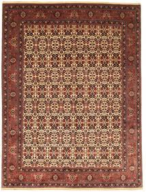 Bidżar Takab/Bukan Dywan 255X351 Orientalny Tkany Ręcznie Ciemnoczerwony/Ciemnobrązowy Duży (Wełna, Persja/Iran)