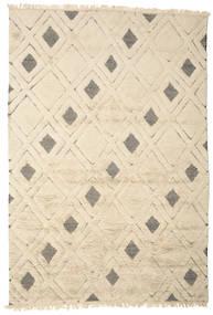 Yoko Dywan 200X300 Nowoczesny Tkany Ręcznie Beżowy/Jasnoszary (Wełna, Indie)