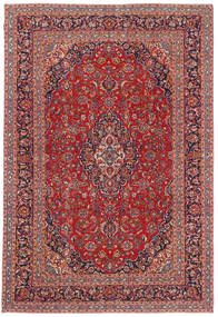 Keszan Patina Dywan 244X361 Orientalny Tkany Ręcznie Ciemnoczerwony/Ciemnofioletowy (Wełna, Persja/Iran)
