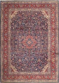 Hamadan Shahrbaf Dywan 270X377 Orientalny Tkany Ręcznie Czarny/Ciemnobrązowy Duży (Wełna, Persja/Iran)