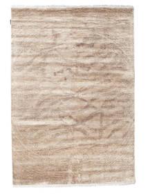 Himalaya Dywan 165X237 Nowoczesny Tkany Ręcznie Jasnoszary/Jasnobrązowy (Wełna/Jedwab Bambusowy, Indie)