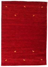 Gabbeh Loom Two Lines - Czerwony Dywan 160X230 Nowoczesny Czerwony/Ciemnoczerwony (Wełna, Indie)