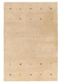 Gabbeh Loom Two Lines - Beżowy Dywan 160X230 Nowoczesny Ciemnobeżowy/Jasnobrązowy (Wełna, Indie)