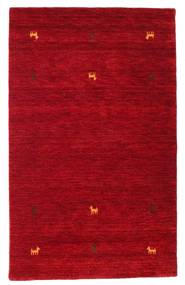 Gabbeh Loom Two Lines - Czerwony Dywan 100X160 Nowoczesny Czerwony/Ciemnoczerwony (Wełna, Indie)