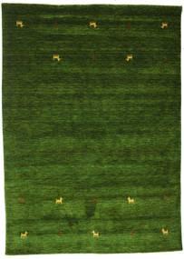 Gabbeh Loom Two Lines - Zielony Dywan 160X230 Nowoczesny Ciemnozielony (Wełna, Indie)