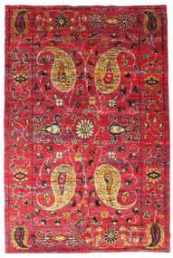 Vega Sari Jedwab Dywan 200X300 Nowoczesny Tkany Ręcznie Czerwony/Rdzawy/Czerwony (Jedwab, Indie)