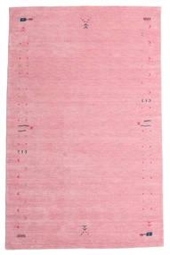Gabbeh Loom Frame - Różowy Dywan 190X290 Nowoczesny Jasnoróżowy/Różowy (Wełna, Indie)