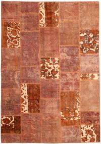 Patchwork Dywan 166X243 Nowoczesny Tkany Ręcznie Czerwony/Ciemnoczerwony (Wełna, Persja/Iran)