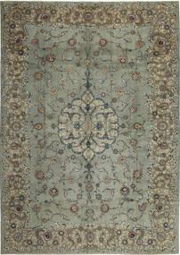 Keszan Patina Dywan 297X420 Orientalny Tkany Ręcznie Ciemnoszary/Jasnoszary Duży (Wełna, Persja/Iran)
