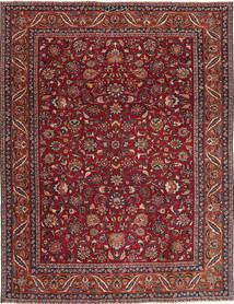 Meszhed Patina Dywan 240X325 Orientalny Tkany Ręcznie Ciemnoczerwony/Ciemnoszary (Wełna, Persja/Iran)