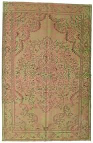 Colored Vintage Dywan 183X284 Nowoczesny Tkany Ręcznie Jasnobrązowy/Jasnozielony (Wełna, Turcja)