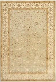 Tebriz Royal Magic Dywan 197X294 Orientalny Tkany Ręcznie Beżowy/Ciemnobeżowy/Jasnobrązowy ( Indie)