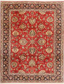 Bidżar Dywan 312X402 Orientalny Tkany Ręcznie Rdzawy/Czerwony/Ciemnobrązowy Duży (Wełna/Jedwab, Persja/Iran)
