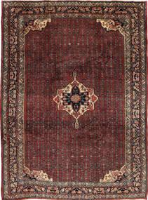 Bidżar Dywan 257X355 Orientalny Tkany Ręcznie Ciemnoczerwony/Ciemnobrązowy Duży (Wełna, Persja/Iran)