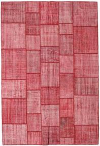 Patchwork Dywan 205X300 Nowoczesny Tkany Ręcznie Rdzawy/Czerwony/Różowy (Wełna, Turcja)