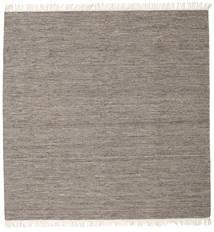 Melange - Brunatny Dywan 300X300 Nowoczesny Tkany Ręcznie Kwadratowy Jasnoszary/Ciemnoszary Duży (Wełna, Indie)